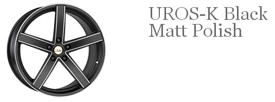 Uros K Black Matt Polish